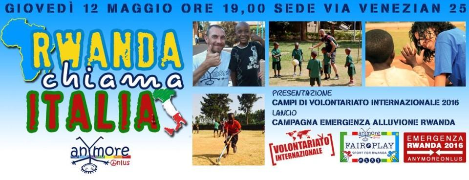 Rwanda chiama Italia